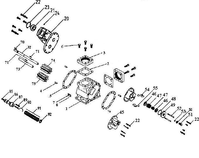parts list for roper 3648hbf  u0026 3648hbfrv